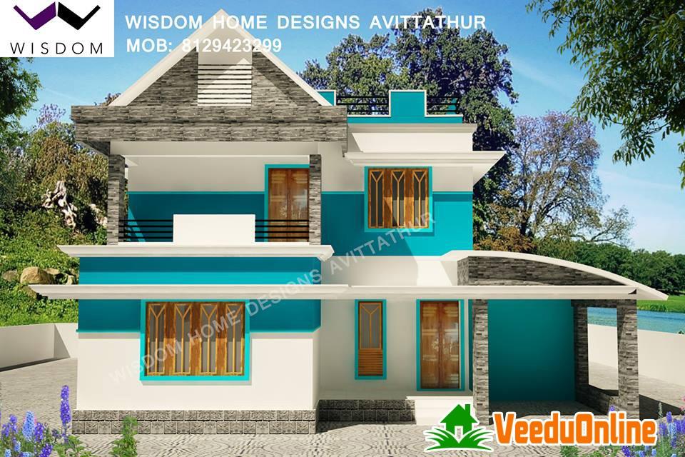 Kerala Modern Style Home 1500 Square feet