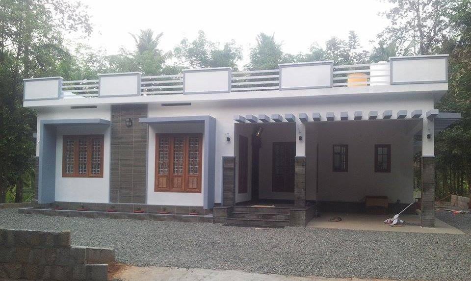 Beautiful Single Floor Home Design 1375 Sq ft