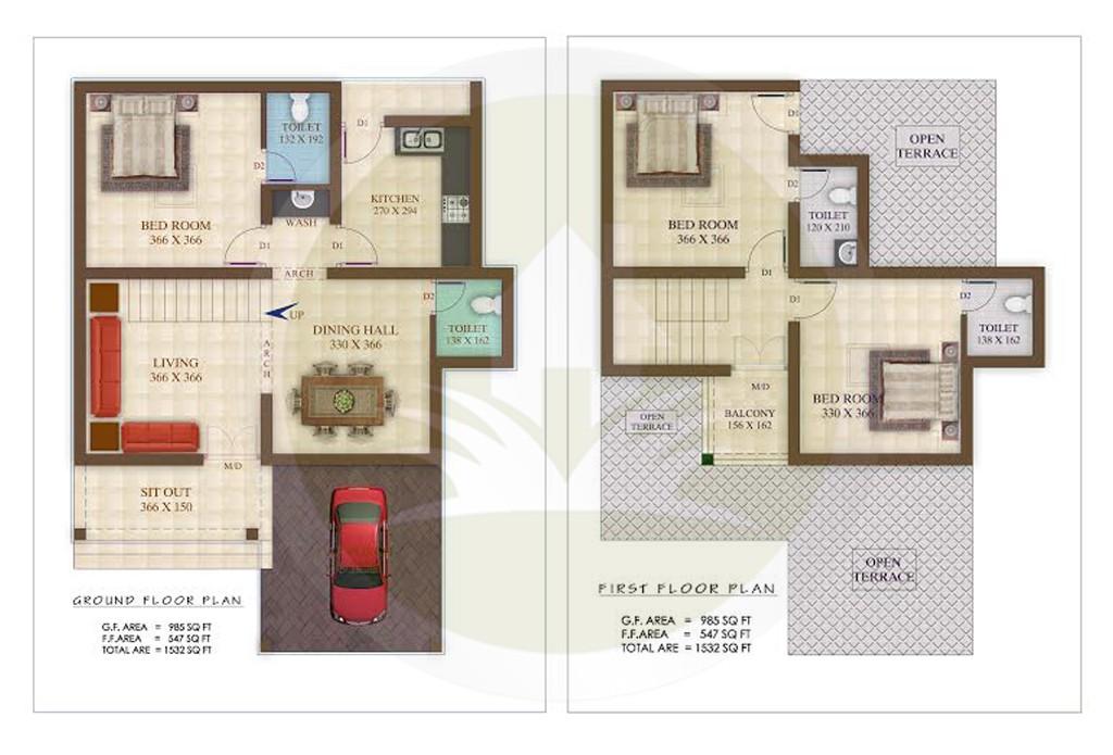 Modern Kerala House Design 2016 At 2980 Sq Ft: Contemporary Model Kerala Style Home Design 1532 Sq Ft