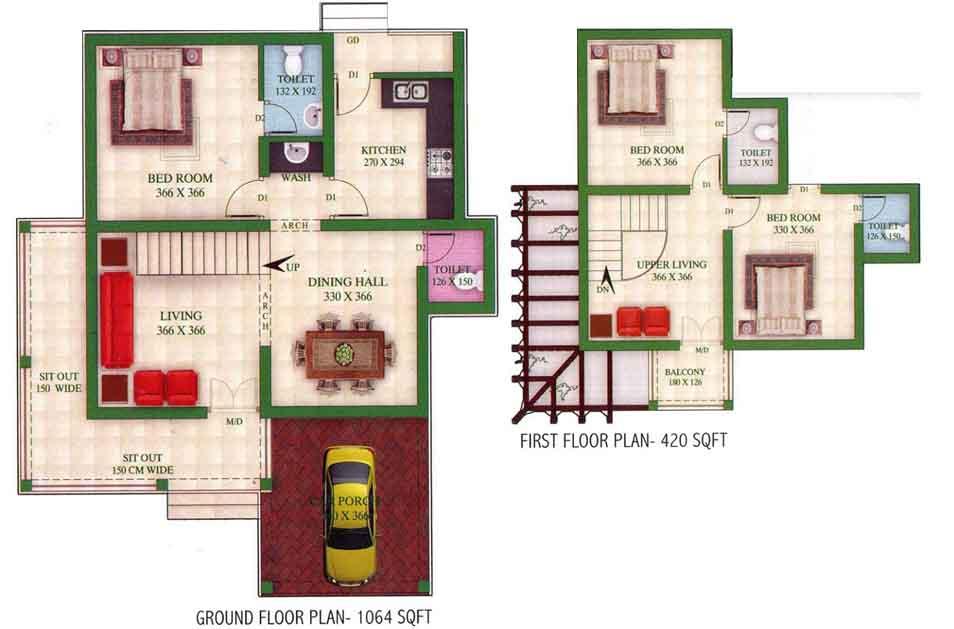 Kerala Home Design And Floor Plans 1484
