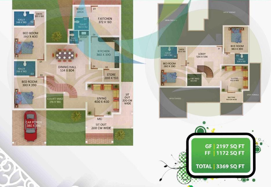 3369 Square Feet Amazing And Beautiful Kerala Home Designs Plan