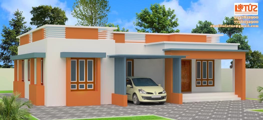 Single Floor Home Design Suits 1179 Square Feet
