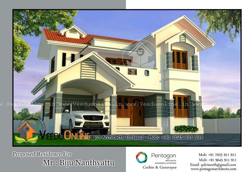Super Kerala Home Design 2050 Square feet