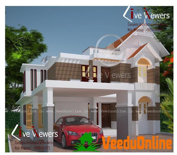 Beautiful Kerala Home Design 2100 Square feet
