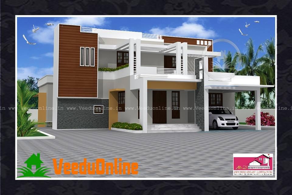 Beautiful Kerala Home design 2200 Square feet