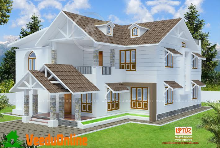 Excellent Modern Home Design 2278 Square Feet