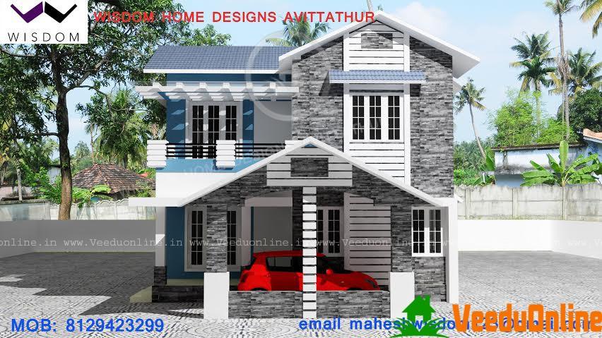 1976 Square Feet Amazing And Beautiful Kerala Home Designss