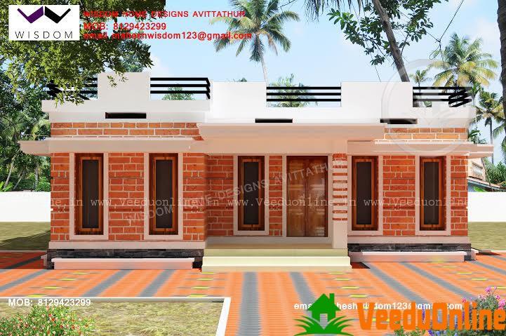 796 Square Feet Single Floor Contemporary Home Design
