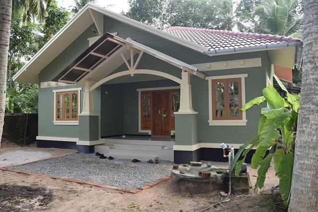 Beautiful Kerala Home Model 1378 Square Feet