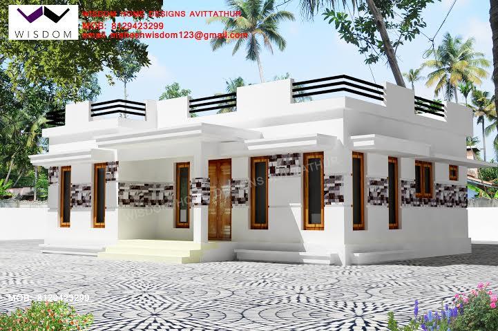 Beautiful Single Floor House Design 810 Sq Ft
