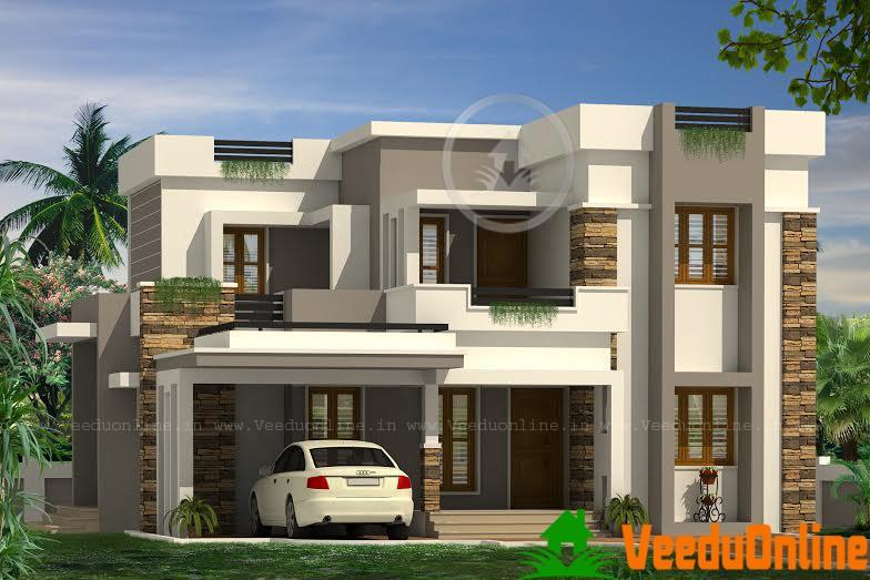 Double Floor Home Design 2689 Sq Ft