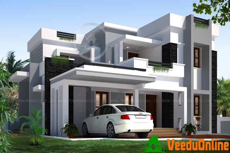 Double Floor Home Designs 2689 Sq Ft