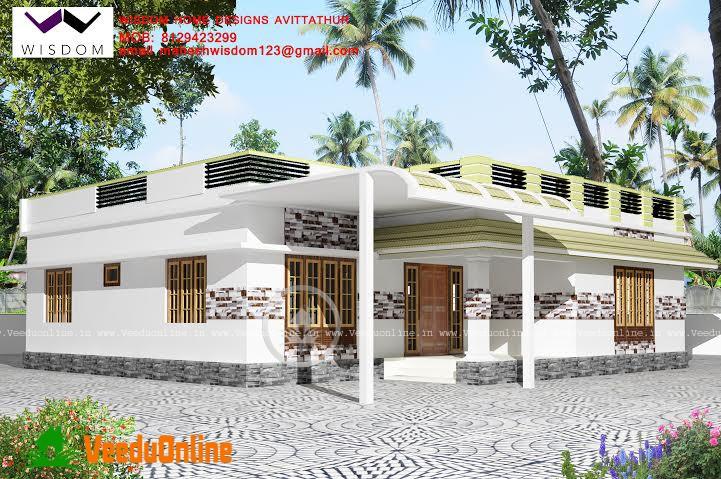 Kerala Home Design Single Floor 1