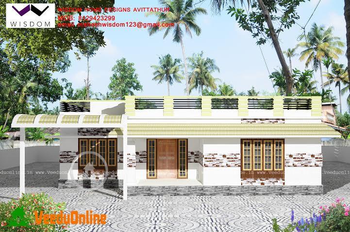 Kerala Home Design Single Floor 2