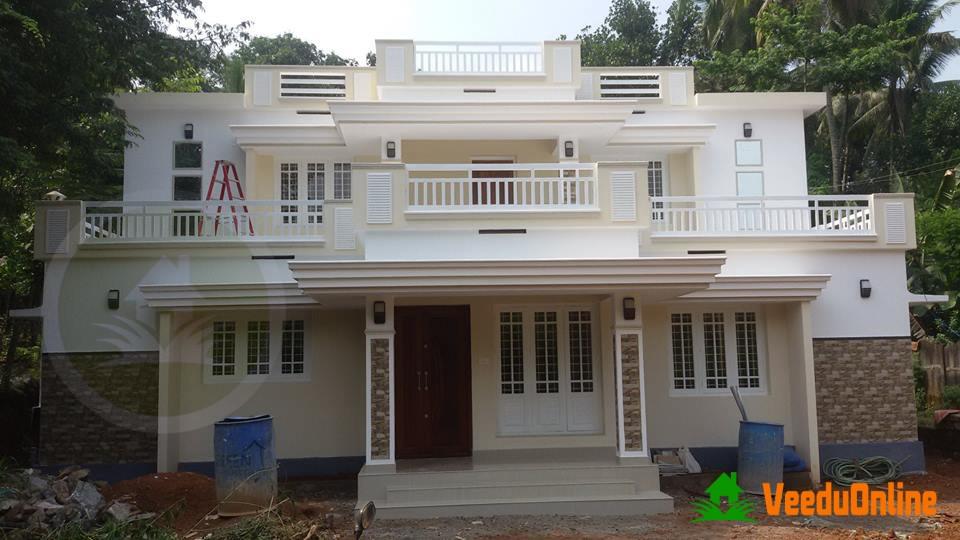 Double Floor Kerala Home Design 1650 Sq Ft