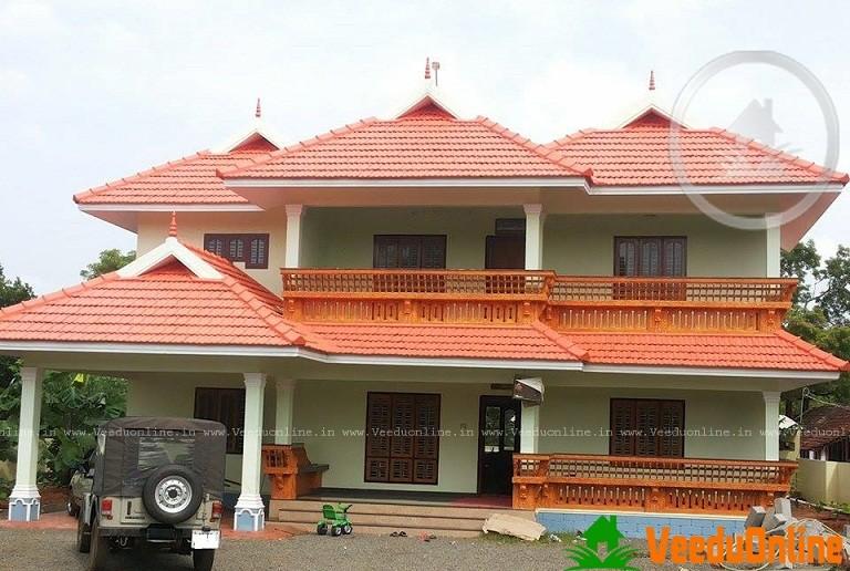 Double Floor Kerala Home Design 3600 Sq Ft