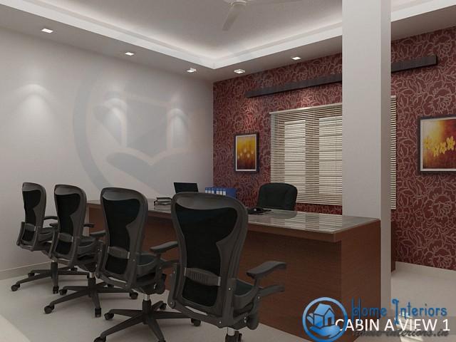 Dazzling Modern Kerala Office Interior Designs