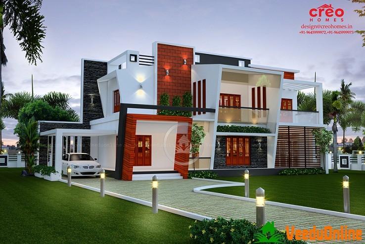 Stupendous Kerala Double Floor Home Design