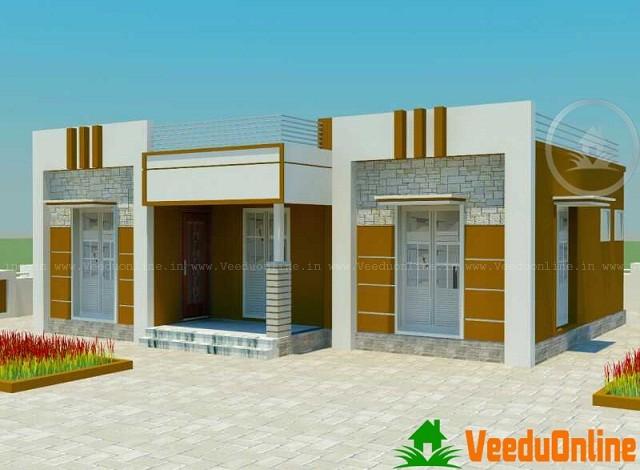 900 Sq Ft Contemporary Kerala Home Designs