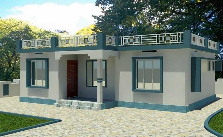 1250 sq ft single storied modern home design veeduonline for 1250 square feet house