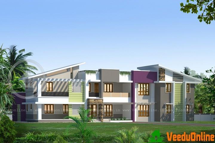 3712 Sq Ft Beautiful Double Floor Home Design
