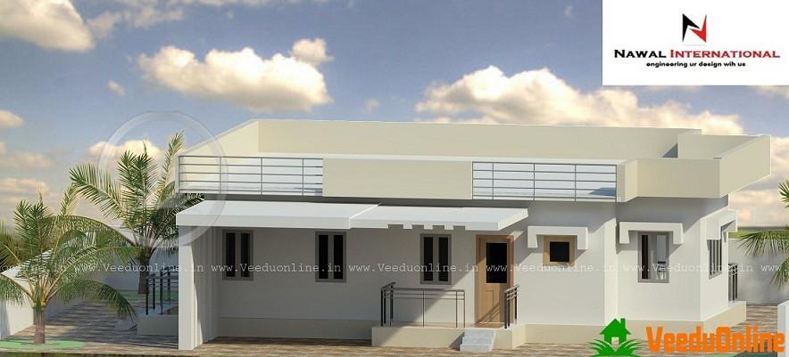 800 Sq Ft Modern Double Floor Home Design