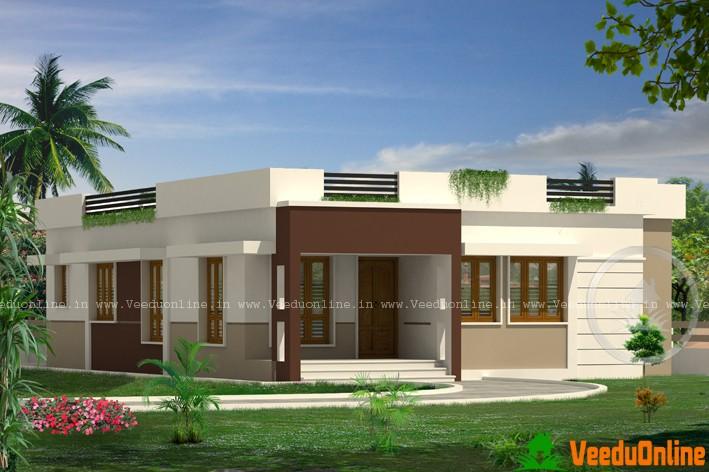 1654 Sq Ft Stylish Kerala Home Single Storey