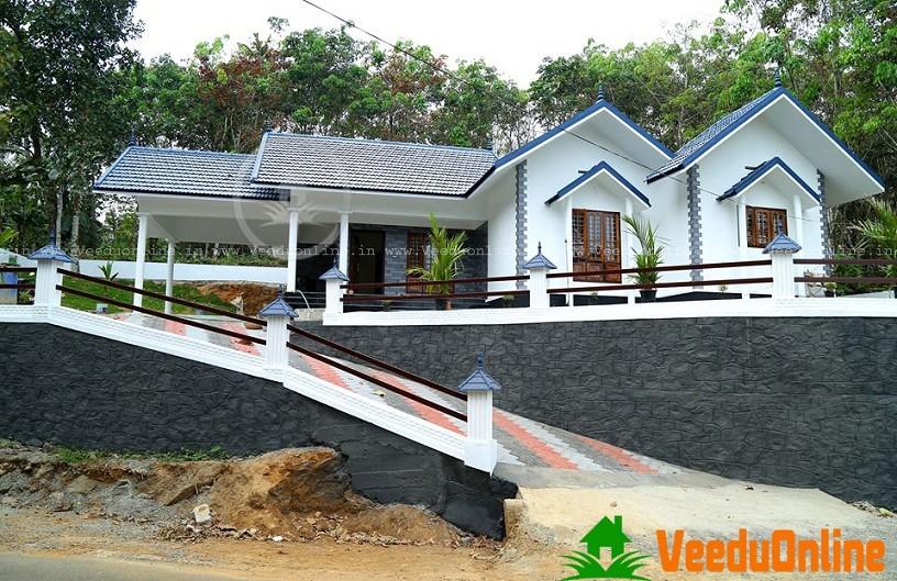 1625 Sq Ft Single Floor Modern Traditional Home Design