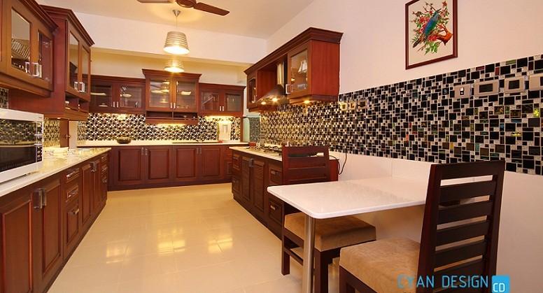 120 square feet contemporary home kitchen interior design for Kitchen design 80 square feet