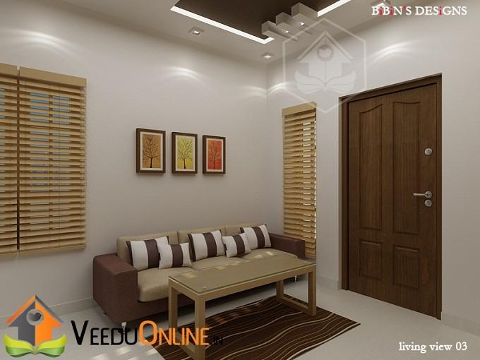 Outstanding Modern Living, TV Unit, Dining Home Interior Design