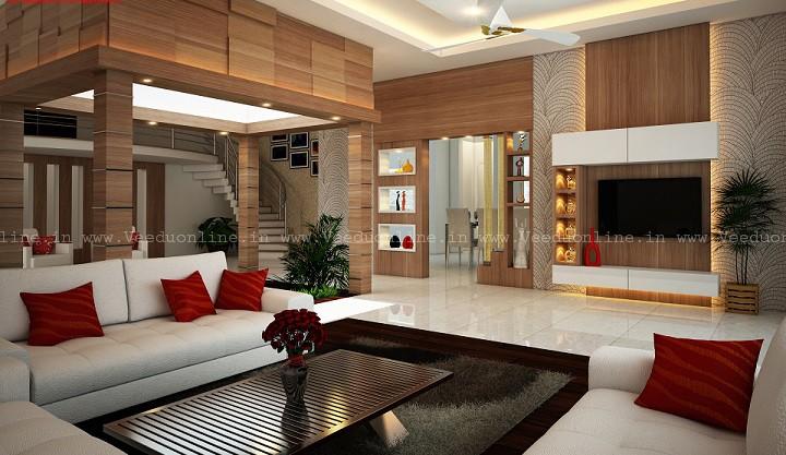 Fascinating Contemporary Home Living Room Interior Design