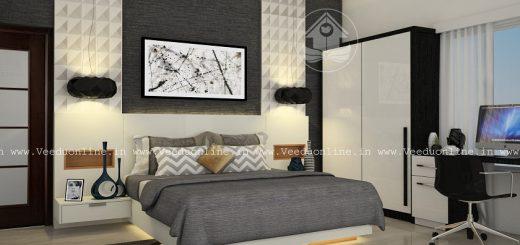 Fabulous Contemporary Budget Home Interior Bedroom Design