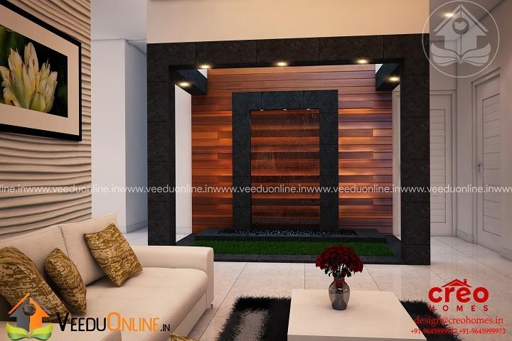 Fabulous Contemporary Home Living & Courtyard Interior Design