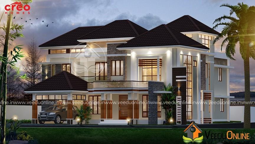 Modern Kerala House Design 2016 At 2980 Sq Ft: Kerala Home Designs & Free