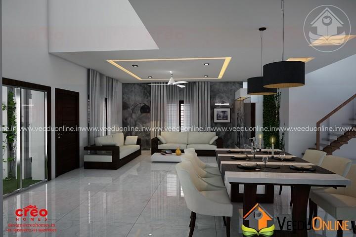 Fascinating Contemporary Budget Home Interior Dining Design