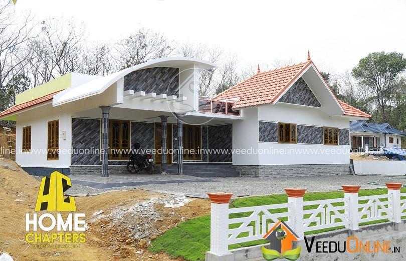 1750 Square Feet Single Floor Contemporary Home Design