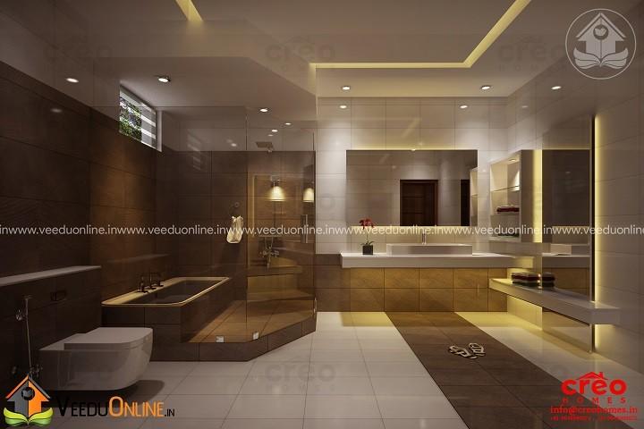 Astonishing Contemporary Home Bathroom Interior Design