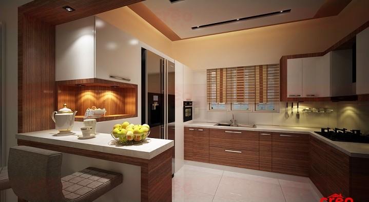 Marvelous Contemporary Home Interior Modular Kitchen Design