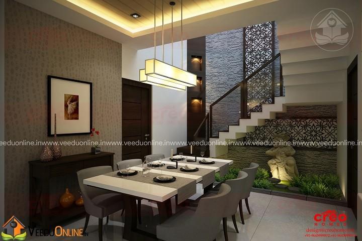 Fabulous Contemporary Budget Home Stair Interior Design