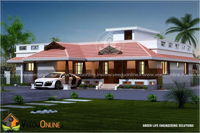 Kerala Home Design 2017 Single Floor