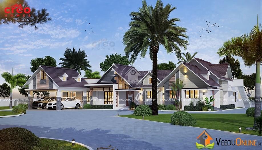 Kerala Home Foyer : Square feet single floor traditional home design