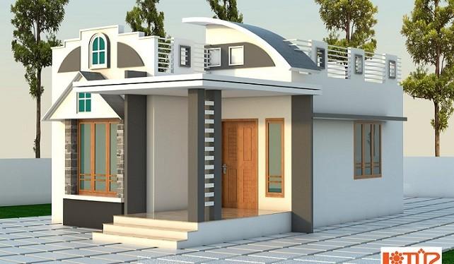 650 Square Feet Single Floor Contemporary Home Design