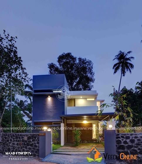 1200 Square Feet Double Floor Contemporary Home Design