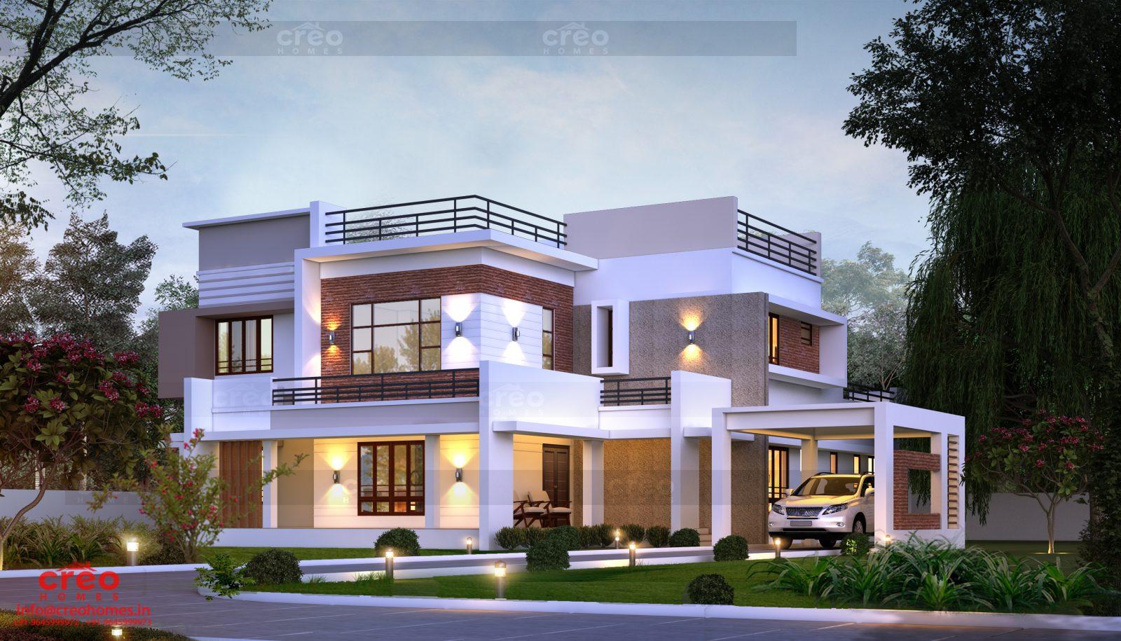 4203 Square Feet Double Floor Home Design
