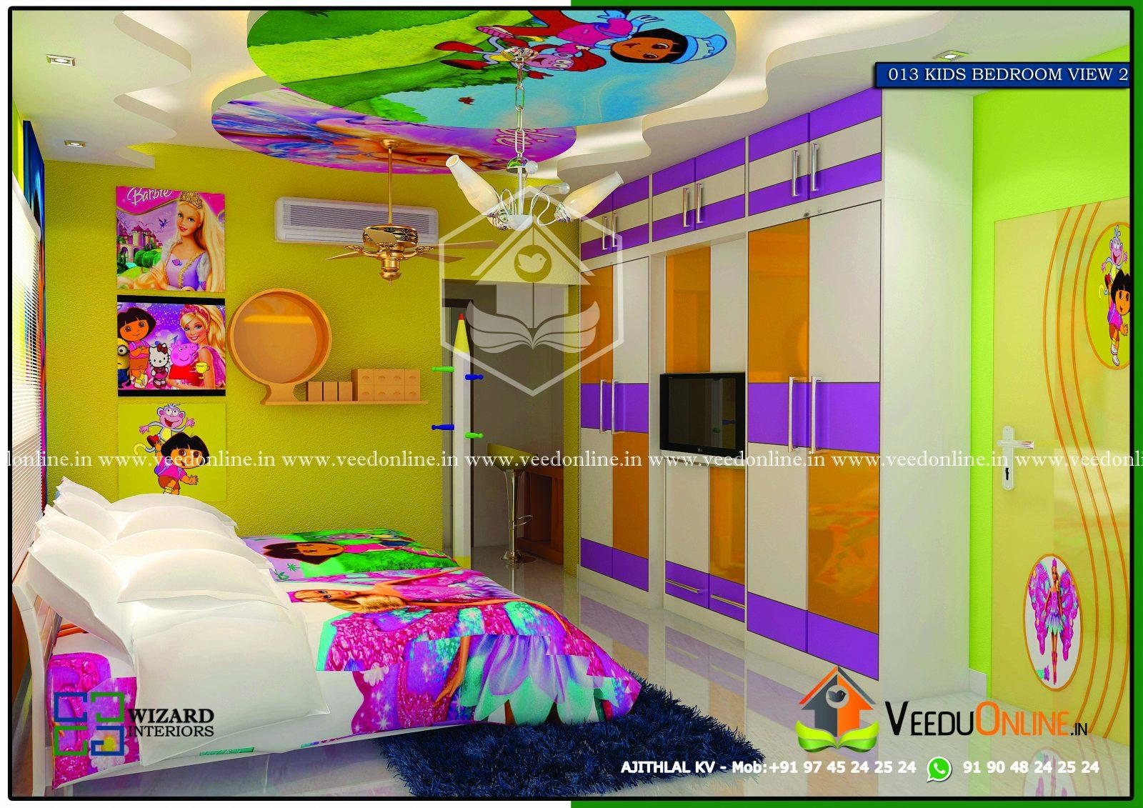 excellent living room interior design | Excellent Kids Living Room Home Interior Design - Veeduonline
