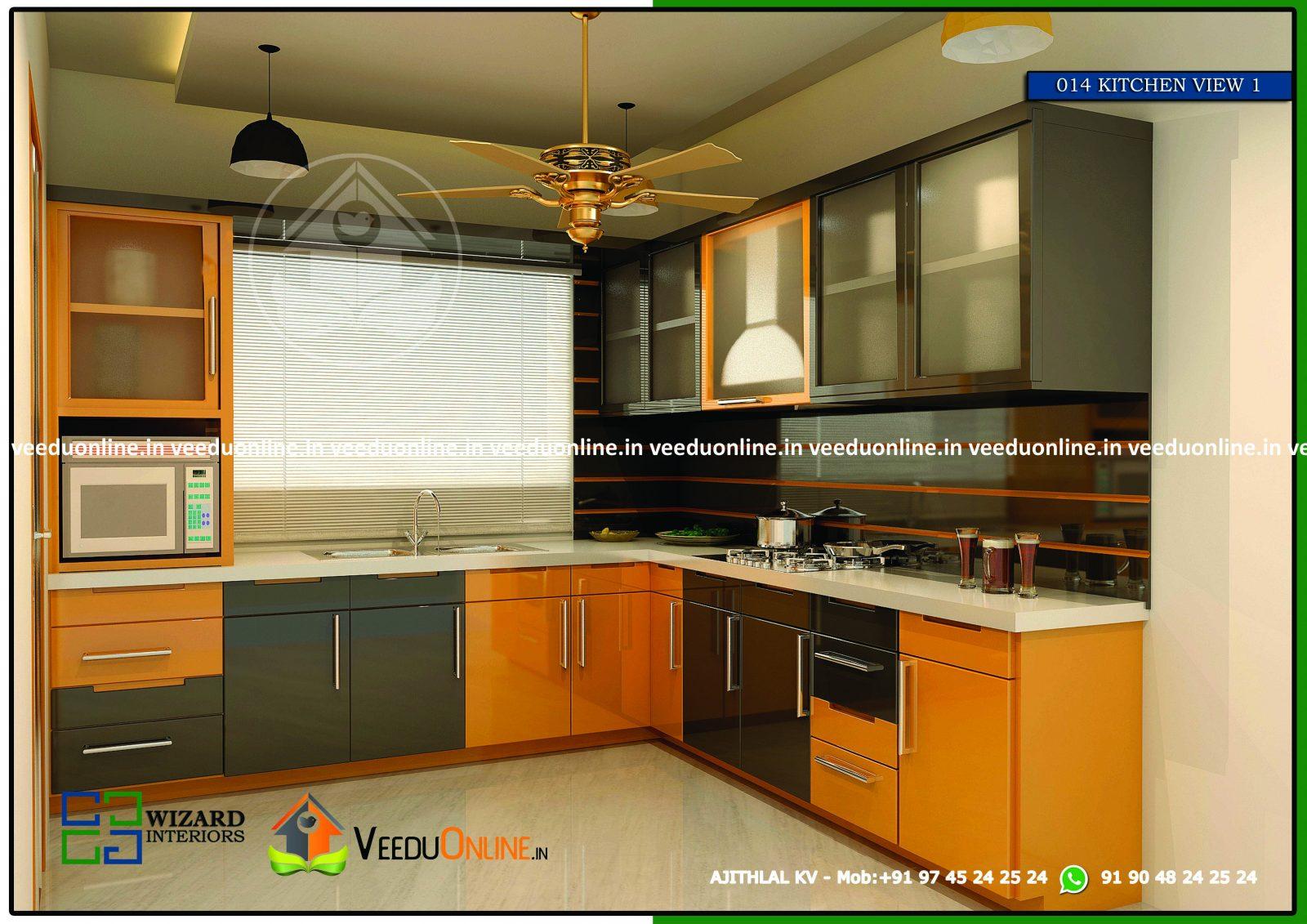 Amazing Low Cost Modern Kitchen Interior Home Design
