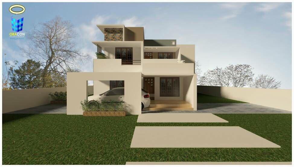 2900 Square Feet DoubleFloor Modern Home Design