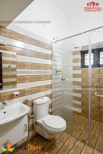 2200 Square Feet Excellent And Amazing Kerala Home Toilet Design Veeduonline