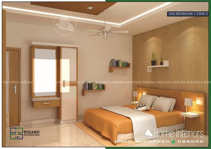 Excellent And Amazing Kerala Home Bedroom View 2 Interior Design Veeduonline