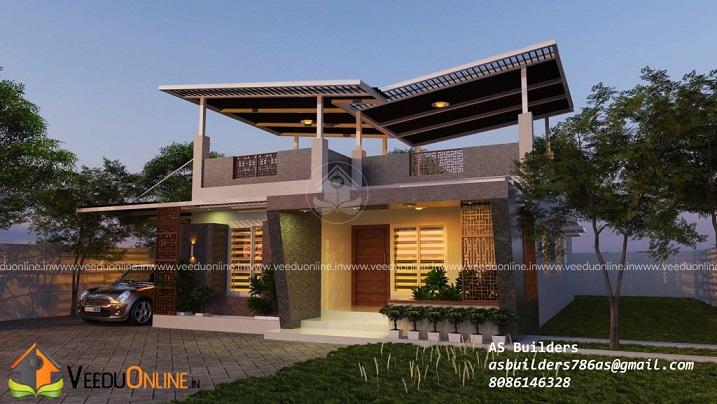 1150 Square Feet Single Floor Contemporary Home Design